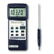 Termómetro con termocupla tipo K
