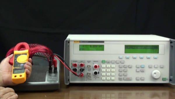 Calibración de Pinza Amperimetrica