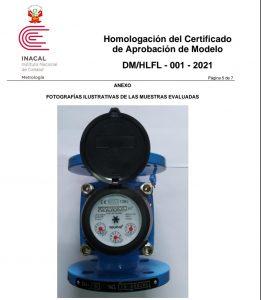 medidores de agua certificados