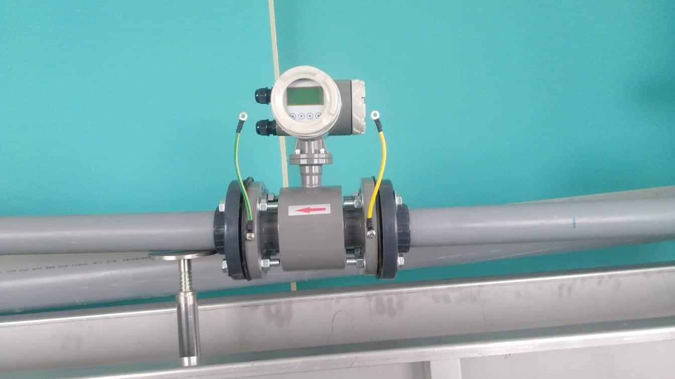 instalación de macromedidores de agua potable
